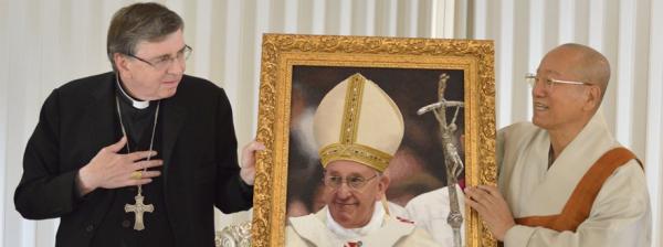Il Cardinale Kurt Koch visita il Maestro